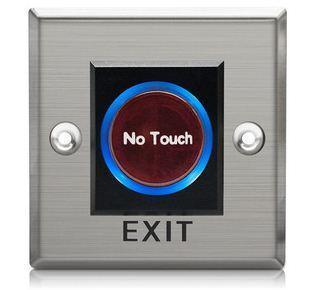 Nút nhấn mở cửa K1 không chạm, hình vuông